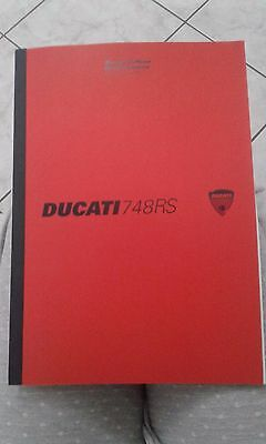 Manuale d'officina DUCATI 748RS