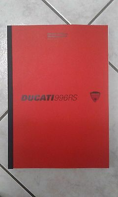 Manuale d'officina DUCATI 996RS