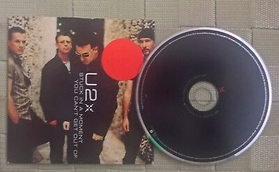 U2 STUCK IN A MOMENT -YOU CAN'T GET OUT OF CD SINGLE card sleeves