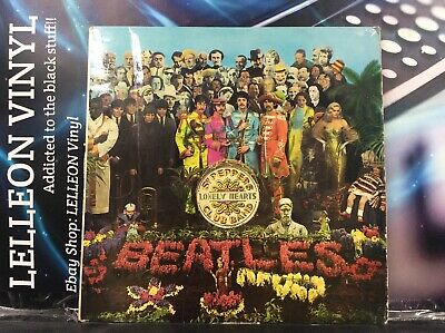 Beatles Sgt Pepper's Lonely Hearts Club Band LP PCS7027 XEX637/8 1967 Parlophone