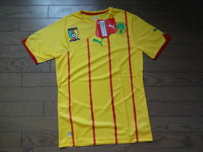 c9950fb7000 Cameroon Away Football Shirt 2010 11 Africa Size Large Bnwt Uk Seller!