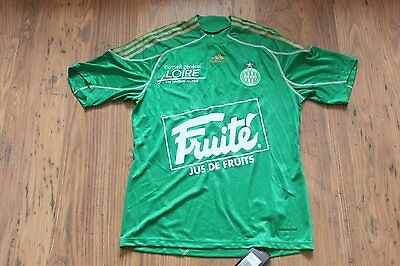 As Saint Etienne St Asse Player Issue Home Football Shirt France Extra Large Xl