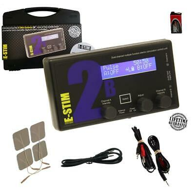E-Stim 2B / 2B PROPACK Digital Estim 17 Modes 2 O/P Optional+PSU+Remote PC-Link