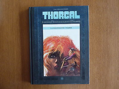 THORGAL LA COLLECTION n° 1 *** LA MAGICIENNE TRAHIE ***  HACHETTE
