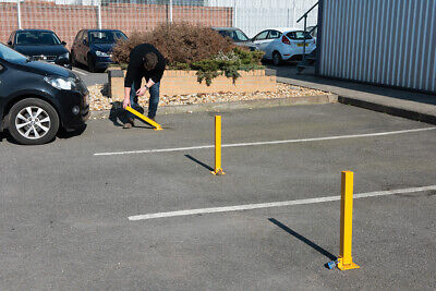 Silverline Fold-Down Parking Security Post 560 X 120mm