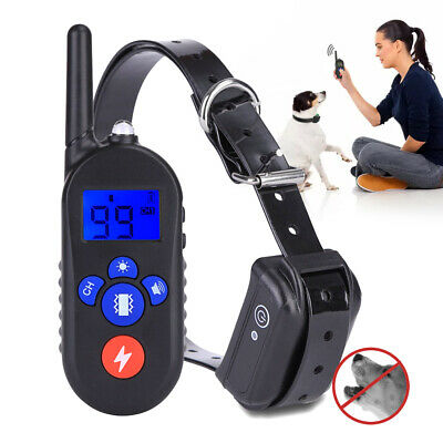 Dog Training Collar Rechargeable Waterproof Electronic Training System Support