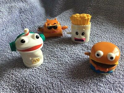 Rare Set Of Early mcdonalds happy meal toys vintage