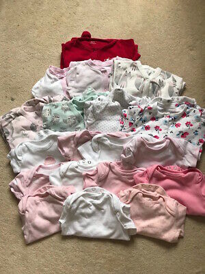 BABY GIRLS 3-6 MONTHS CLOTHES BUNDLE 18+ items