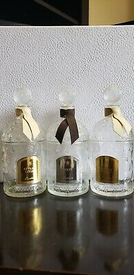 Guerlain Empty 125Ml Vintage Bee Bottles With Stopper No Box (No Juice)