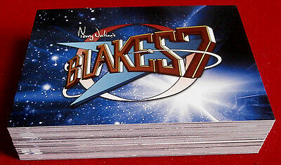 """BLAKE'S 7 - COMPLETE """"Blue Series"""" BASE SET of 54 CARDS - Unstoppable Cards"""