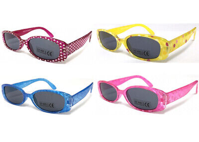 BW29 Baby Kids Sunglasses Cute Girls Design/Heart/Butterfly/Dolphin/Dot Patterns