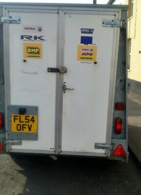 Ifor Williams box towing trailer excellent condition 8 x 4 x 5