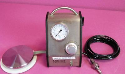 Baxter ARS-530 Medical Air Regulator System 60 psi w/ Foot Switch & Air Hose