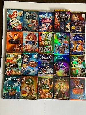 Disney DVD Lot 20 Special & Platinum Editions-All But 3 W/ Slipcovers!!~READ!!!