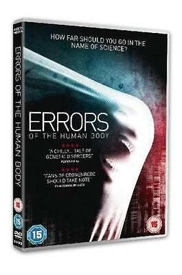 Errors of the Human Body DVD Region 2 Horror *New and Sealed*
