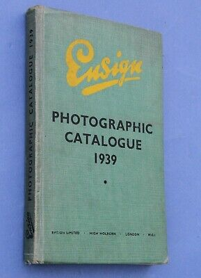 Nice ENSIGN Dealer Photographic Catalogue 1939 -plus other makers too! 284 Pages
