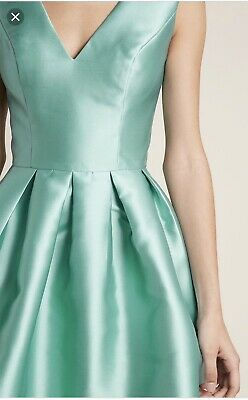 318eff4d4547 ... ModCloth Chi Chi London Sweetly Celebrated Fit & Flare Sage Prom Wed  Dress NWT 2