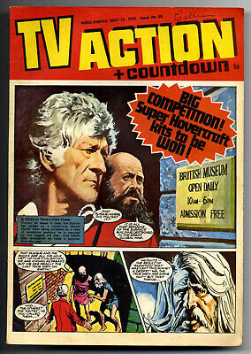 TV Action #65 (May 13, 1972) Captain Scarlet + UFO + Stingray + Dr Who strips