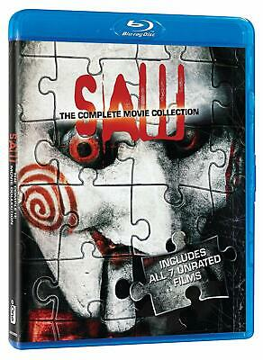 Saw: The Complete Movie Collection (Blu-ray Disc, 2017, 6-Disc Set, Canadian)