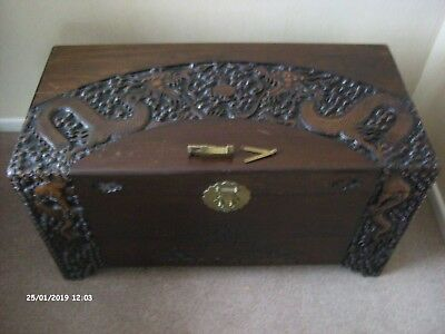 Camphor Wood Chest Fire Breathing Dragons