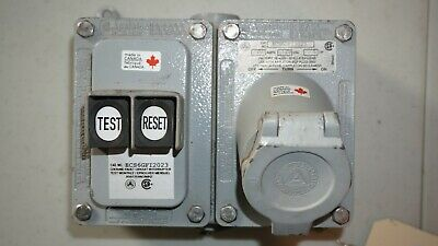 Appleton ECS6GFI2023 20A 125V 60Hz Explosion Proof Ground Fault Receptacle