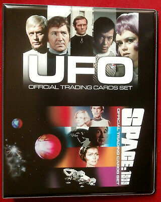 UFO & SPACE 1999 - SERIES TWO - OFFICIAL Trading Card BINDER - Unstoppable 2018