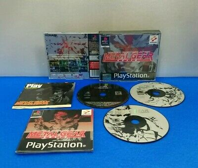 Juego Playstation Psx Ps1 Español Pal - Metal Gear Solid Tactical Espionage