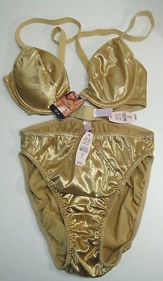 Vintage Victoria's Secret Bra and Panty Set 32A Miracle Bra Small Panties NWT
