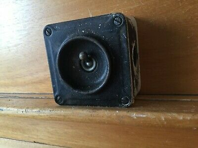 Crabtree Vintage Cast Iron Industrial Light Switch 0ne Gang Salvaged Reclaimed