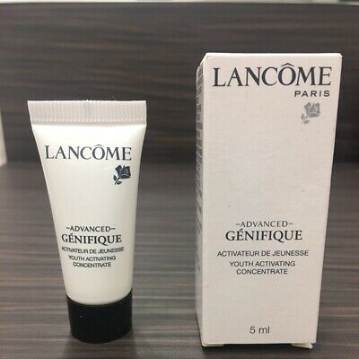 Lancome Genifique Youth Activating Concentrate 5ml Sample Vial Party Work Travel