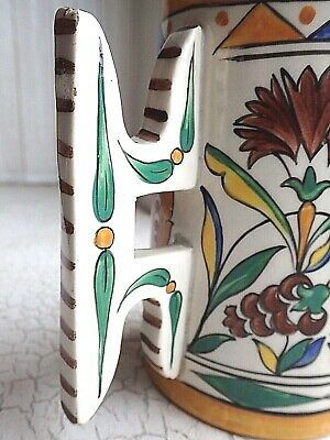 Antique IZNIK TANKARD Large CANTAGALLI ITALY Ottoman Islamic Turkish 1920's