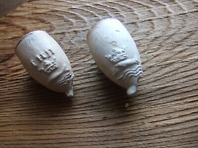130 Thames Foreshore  mixed Clay  Pipe Stem Pieces Mayflower Ideal For Crafts .