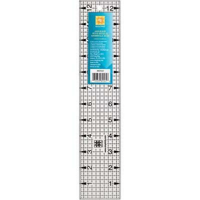 2.5inch x 12.5inch ACRYLIC MINI RULER, TEMPLATE - EZ SIMPLICITY - JELLY ROLL