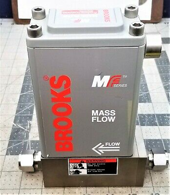 BROOKS MF61 MASS FLOW CONTROLLER Hydrogen H2, 50 SLPM, 300/1000 PSIG NEW [C4B3#8