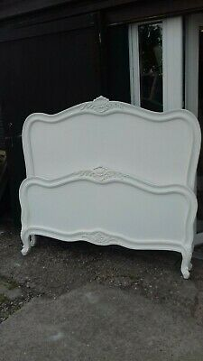 White French Style King Size Bed (No2) Delivery Avail