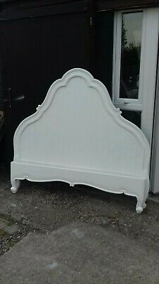 White French Style King Size Bed (No3) Delivery Avail