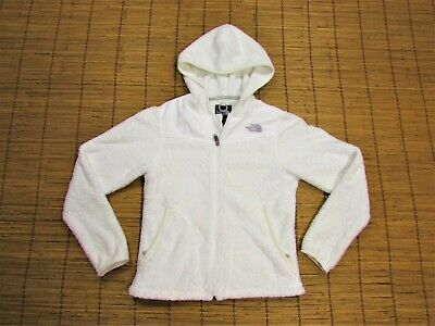 e436c417e WOMENS THE NORTH Face Jacket Oso Hoodie Soft Fleece Zip Coat White ...