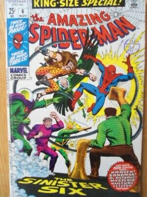 Amazing Spider-man King Size Special vol 1 issue 6 First printing