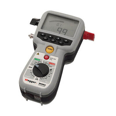 Megger BD-59092 MOM2 Micro-Ohmmeter with Kelvin Clamps, 240 A