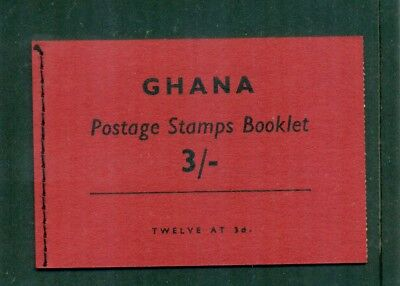 Ghana 1961 3s Booklet with Inverted Panes SG SB2