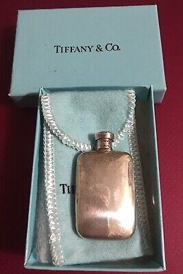 Vintage Tiffany & Co Sterling Silver Miniature Scent Perfume Bottle Alluring
