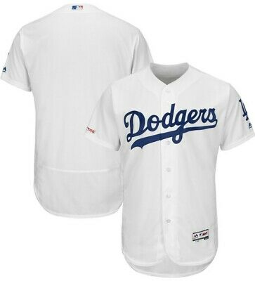 c7e7fa54fea Los Angeles Dodgers Majestic Home Flex Base Authentic Collection Team Jersey
