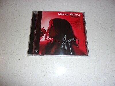AUTOGRAPHED MAREN MORRIS Hero SIGNED CD