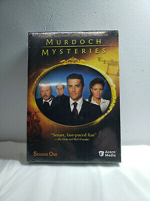 Murdoch Mysteries - Season One  NEW SEALED