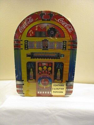"Coca Cola Decorative Collector Tin JukeBox Always Rockin 9"" X 6"" Factory Sealed"