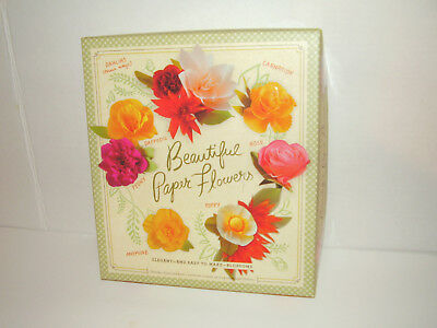 Beautiful Paper Flowers Craft Kit-Easy To Make Blooms, Laurie Cinotto