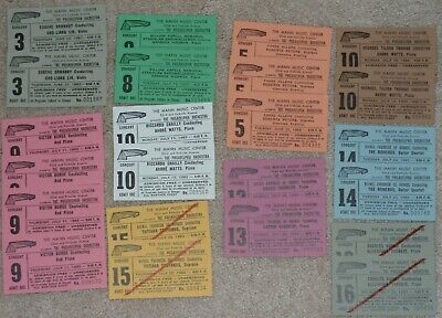 Used VINTAGE Classical Music Concert Tickets~Mann Music Center~Philadelphia, PA