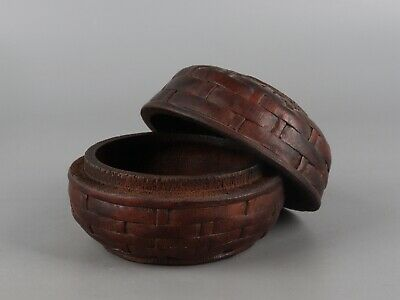 Chinese Exquisite Hand carved bamboo box