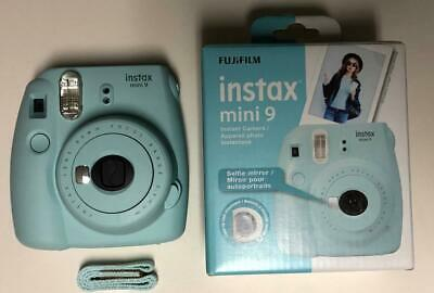 Fujifilm Instax Mini 9 - Ice Blue Instant Film Camera