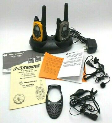 NEW MOTOROLA TALKABOUT T5710 Two Way Radio QuieT600 TM with